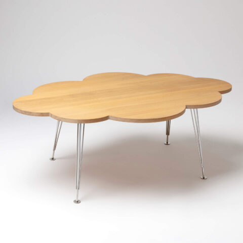 The Cloud Table – coffee table – oak – Molnbordet