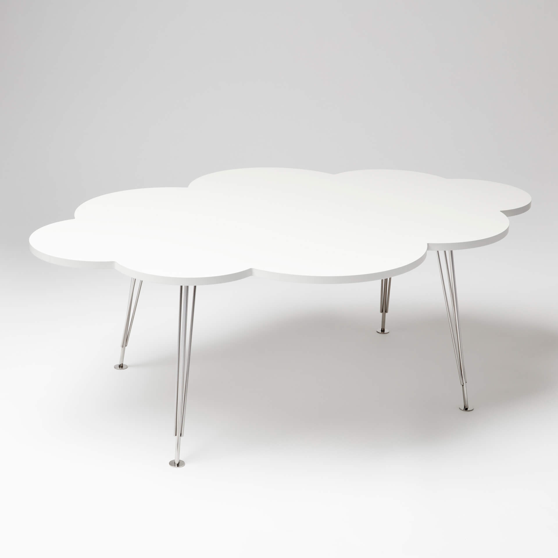 The Cloud Table – coffee table – white – Molnbordet